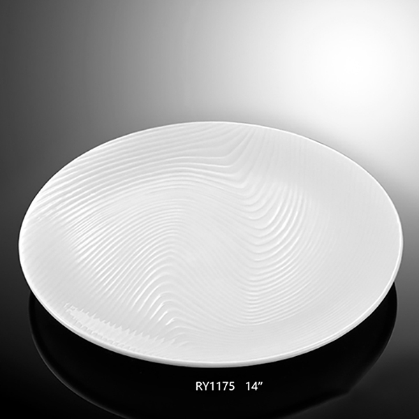 Round Water Wave Plate-RY...