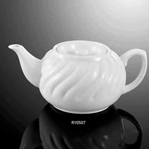 Stripe Tea Pot W/Lid -RY...