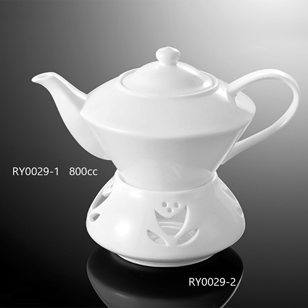 Lines Tea Pot W/Lid-RY0...