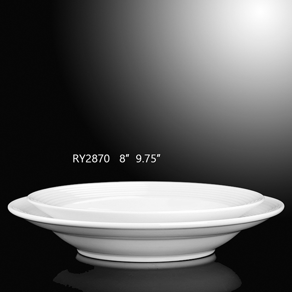 Stave Lines Soup  Plate-R...